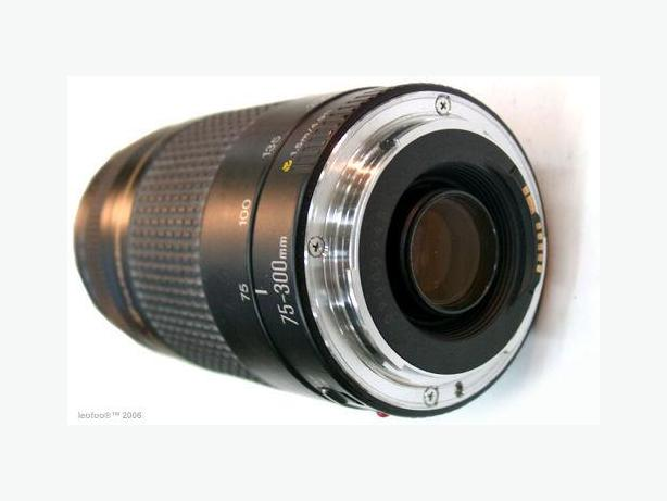 Canon Telephoto Zoom Lens EF 75-300mm 1:4-5.6