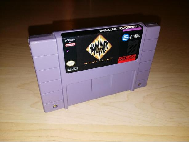 Hammerlock Wrestling For The Super Nintendo (SNES)