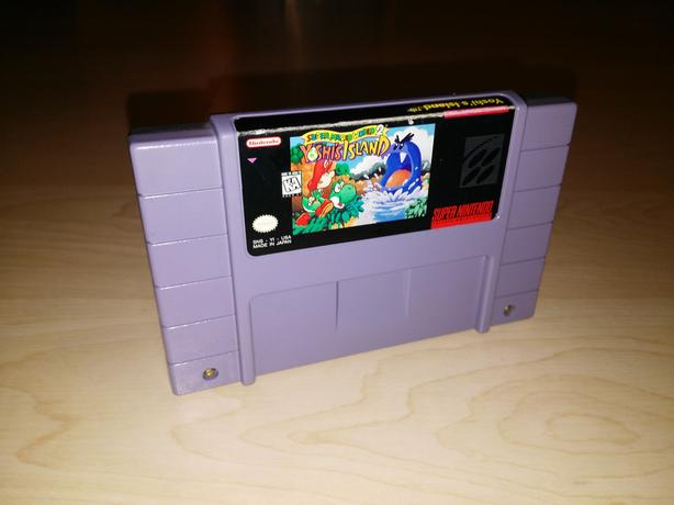 Yoshi's Island (Super Mario World 2) For The Super Nintendo