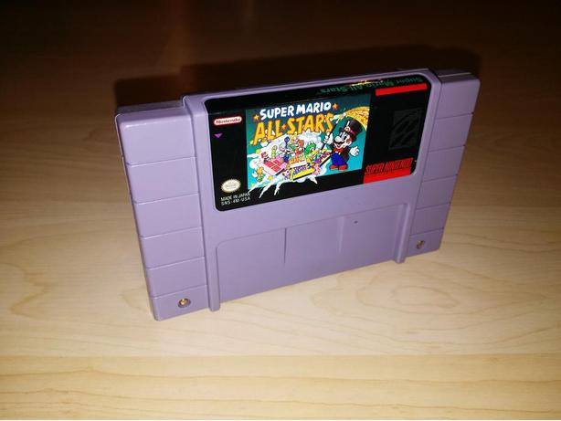 Super Mario All-Stars For The Super Nintendo (SNES)