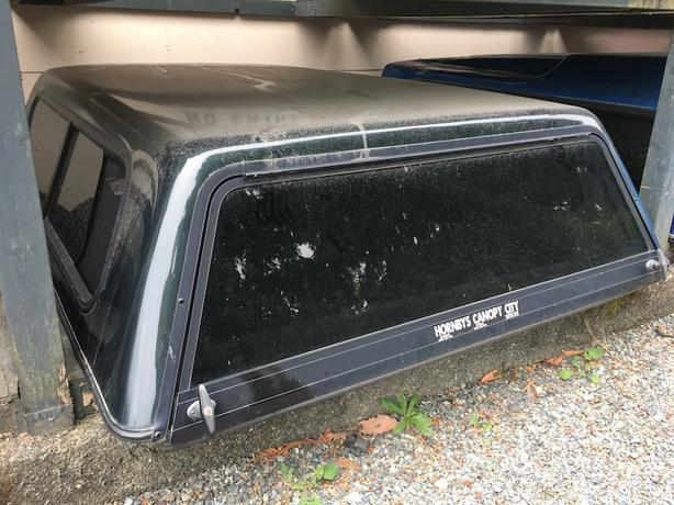 """1997-2003 Ford F150 81"""" Green Canopy"""