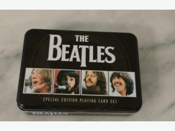 THE BEATLES SPECIAL EDITION PLAYING CARD SET