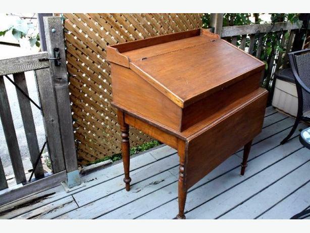 Antique Stand Up Desk w/ Drop Leaf