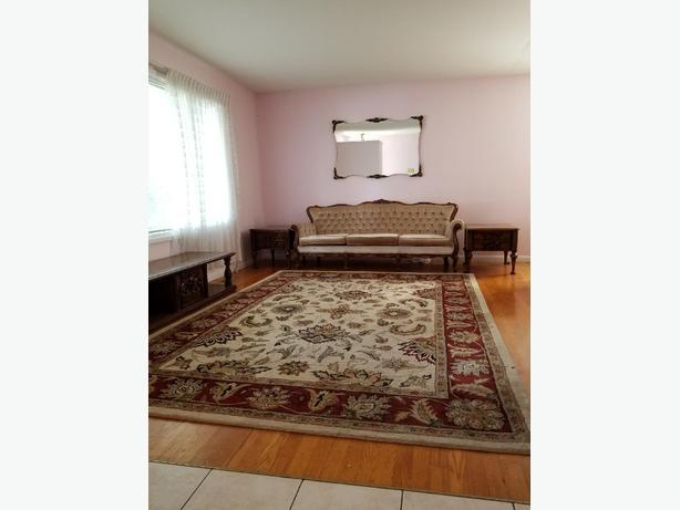 Colourful area rug