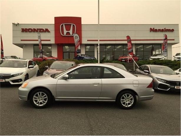 2003 Honda Civic Cpe 2dr Cpe Manual