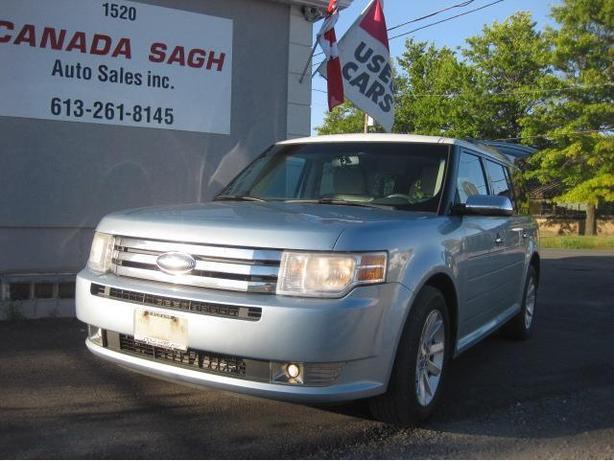 2009 Ford Flex (7 SEATS)  AWD/DVD/LTHR , 12M.WRTY+SAFETY $6990