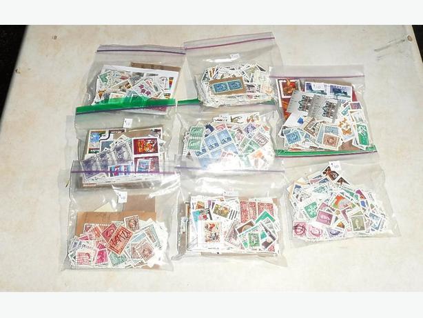 Baggies full of Stamps
