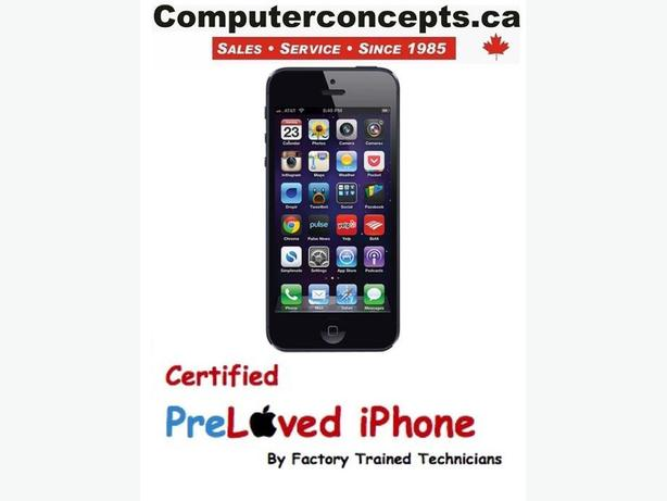 iPhone 5 Black 16GB (TELUS Only)