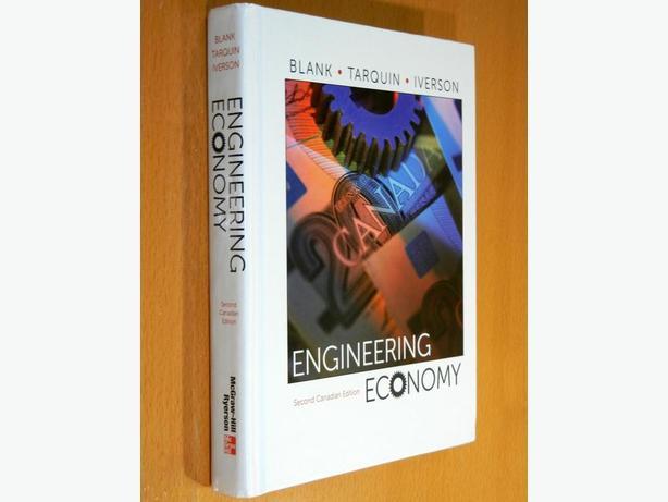 Engineering Economy - 2nd Canadian Edition