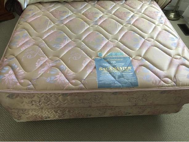 mattress set and frame