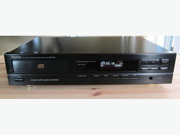 CLASSIC DENON DCD-460 CD PLAYER DUAL BURR-BROWN DAC * JAPAN *