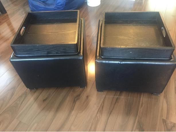 2 Storage Tables/Foot Ottomans
