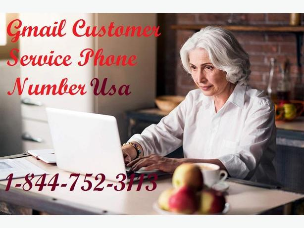 Gmail Customer Support Phone Number 1-844-752--3113