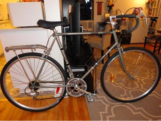 Great 12 Speed Road Bike With Cargo Rack!