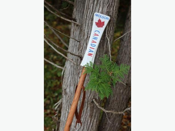 CUSTOM MADE WALKING STICKS: EXPRESS YOUR PASSION FOR THE BREW!