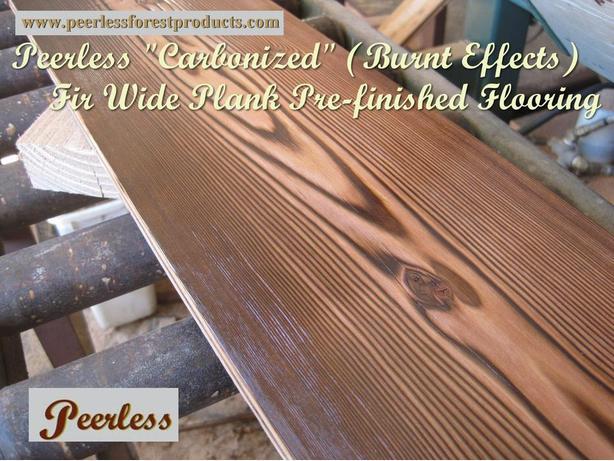 SALE: 1x10 Inch Fir Wide Plank Solid Wood Flooring - Comox, B.C.