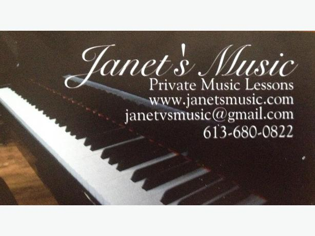 piano, guitar and voice lessons