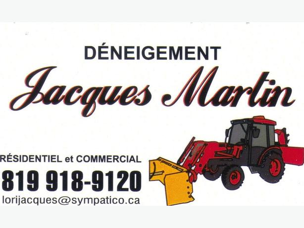 DÉNEIGEMENT JACQUES MARTIN (COMMERCIAL) 819-918-9120