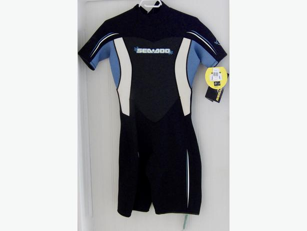 2 Wetsuits Youth Bare as new & Ladies Seadoo New with Tags