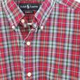 Men's POLO Ralph Lauren Plaid Button Down Shirt - As New