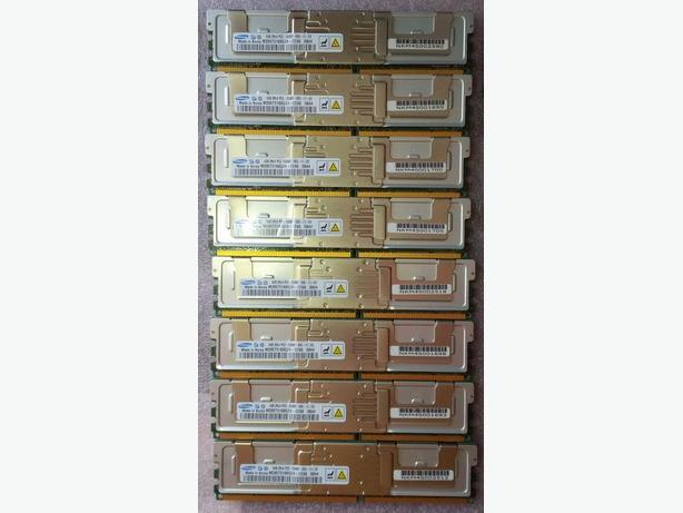 $60 - 32GB DDR2 Server Ram Samsung - DDR2-667+ FB Registered