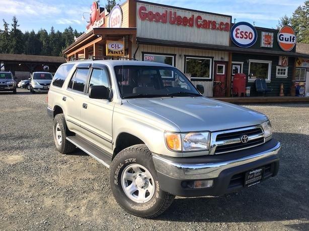 1999 Toyota 4Runner SR5 4 Cylinder 5 Speed Manual
