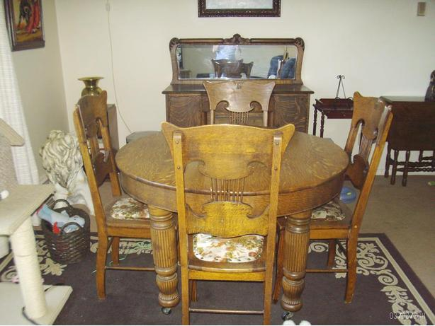 Late 1800's Dining Room Suite