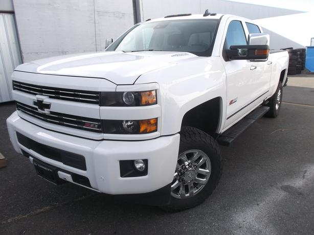 2016 CHEVROLET 3500 CREW CAB DIESEL 4X4 LTZ FOR SALE