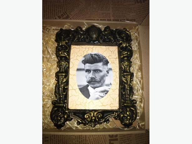 Handmade vintage photo frames