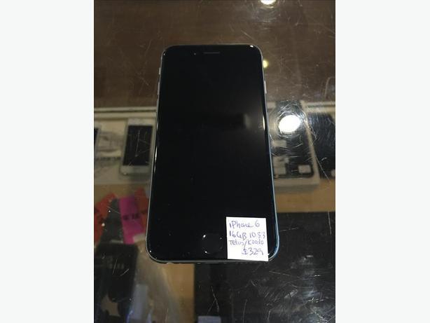 LOCKED Telus/Koodo iPhone 6 16 GB Silver w/ Warranty!