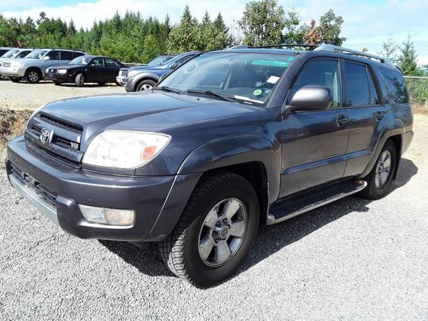 2003 Toyota 4Runner Suv Limited