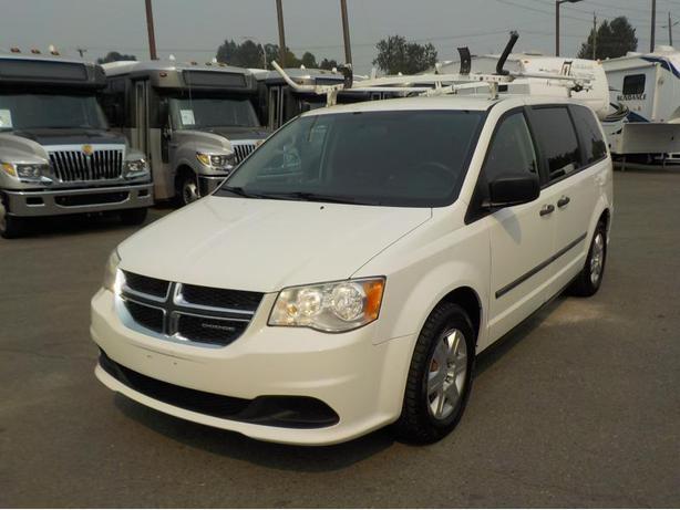 2011 Dodge Grand Caravan Cargo Van W/Rear Shelving