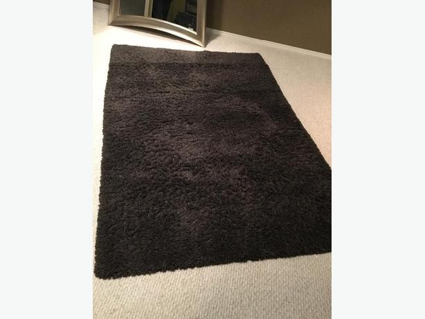 Brown Shag Area Rug from Costco