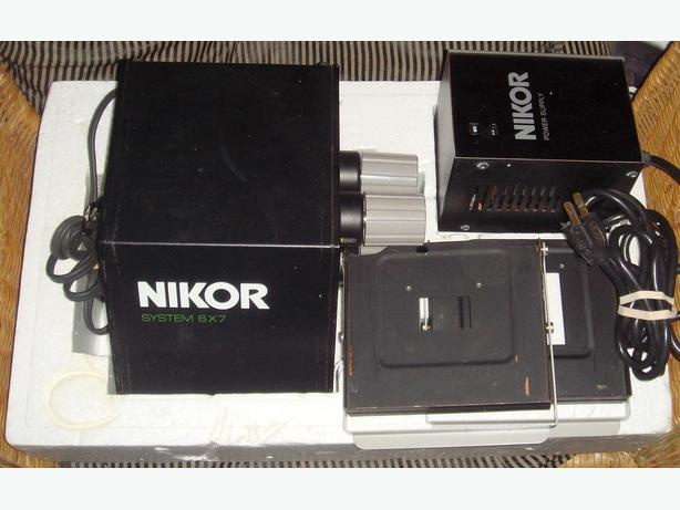 Nikor Rollie 6X7 Enlarger Colour Head Power Supply 2 Neg Holders