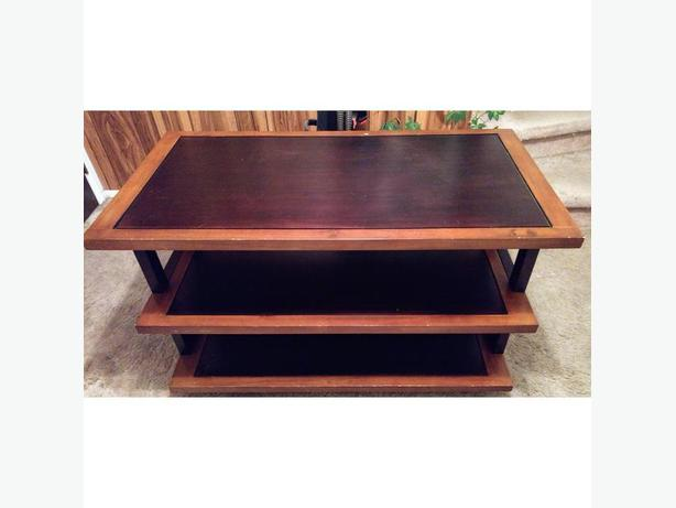 Large Multi-Tiered TV Stand