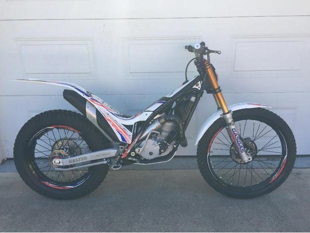 2014 GAS GAS TXT 300cc Replica trials motorcycle