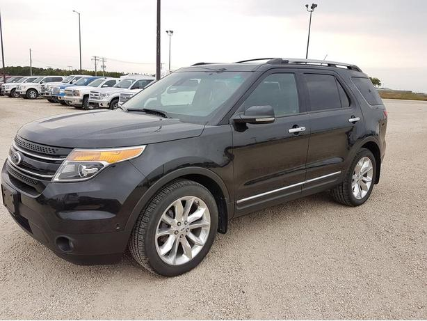 2013 Ford Explorer Limited 4WD 7X118A