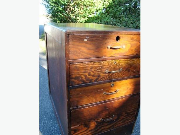 Antique Craft Man's Cabinet