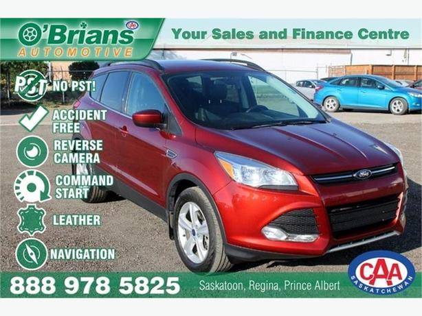 2014 Ford Escape SE - No PST and Accident Free! w/Leather, Nav