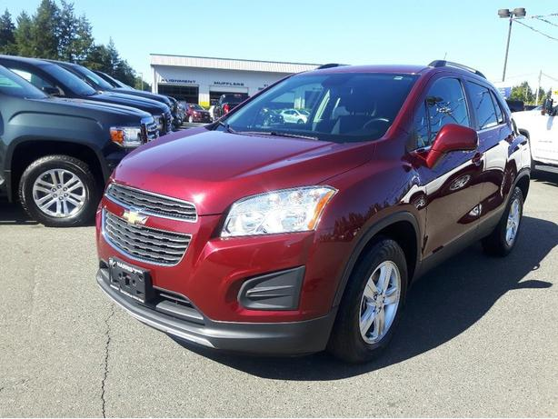 USED 2013 CHEVROLET TRAX LT AWD FOR SALE IN PARKSVILLE