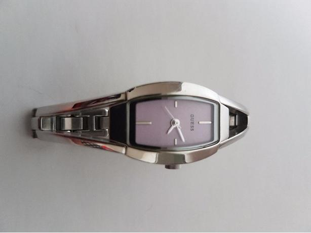GUESS Sterling Silver & Pink Ladies Watch