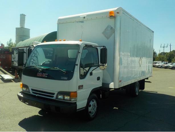2004 GMC W3500 16 Foot Cube Van Turbo Diesel