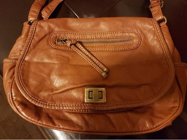 Extremely Soft Light Brown Pleather Shoulder bag