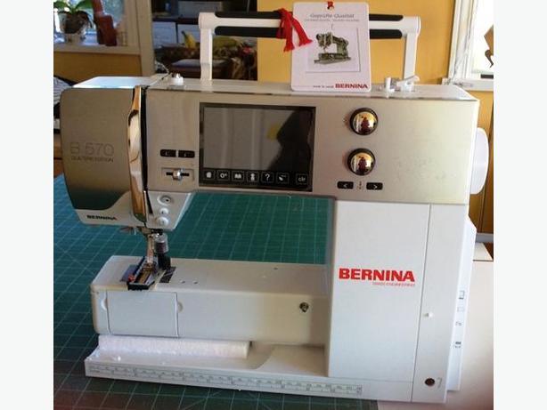 Bernina 570 Quilting/Sewing Machine NEW IN BOX