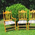 Set of Six Country Style Chairs