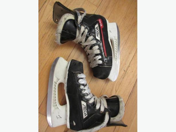 Bauer/Micron Mega 1090 Size 1D child skates