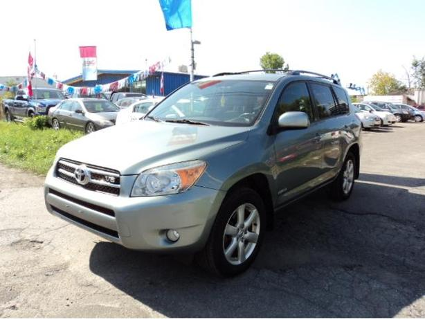 2008 TOYOTA RAV4 LIMITED EDITION ONE OWNER CLEAN CAR PROOF