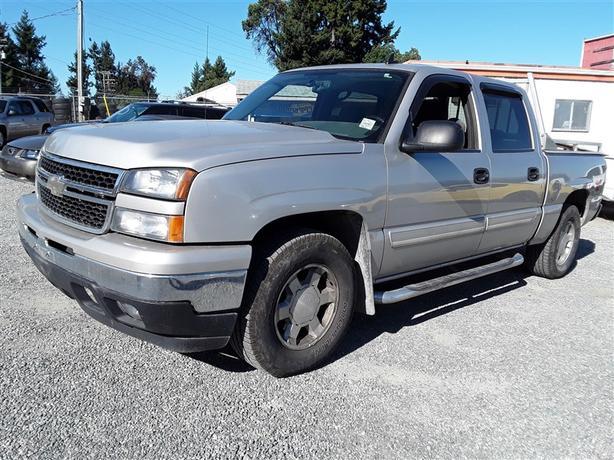2007 Chevrolet Silverado Crew cab 4x4