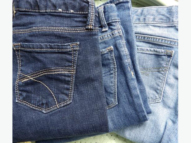 3 Pairs of Girl's GAP KIDS Jeans Sizes 10, 12 & 14 - $10 Each