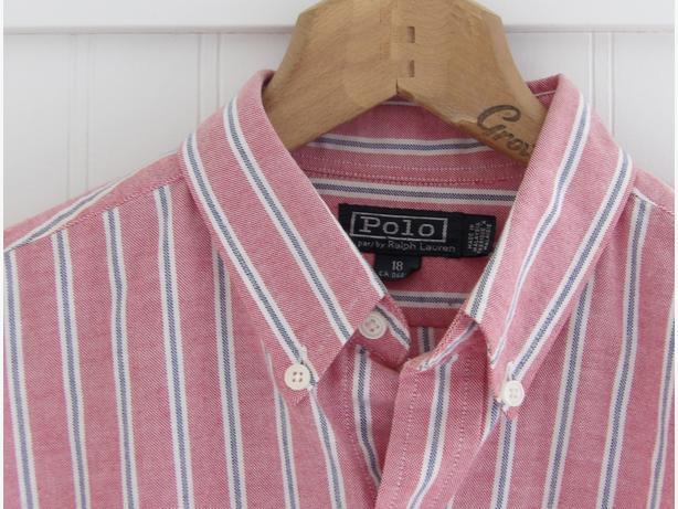 POLO Ralph Lauren Boys Button Down Oxford Shirt XL - As New